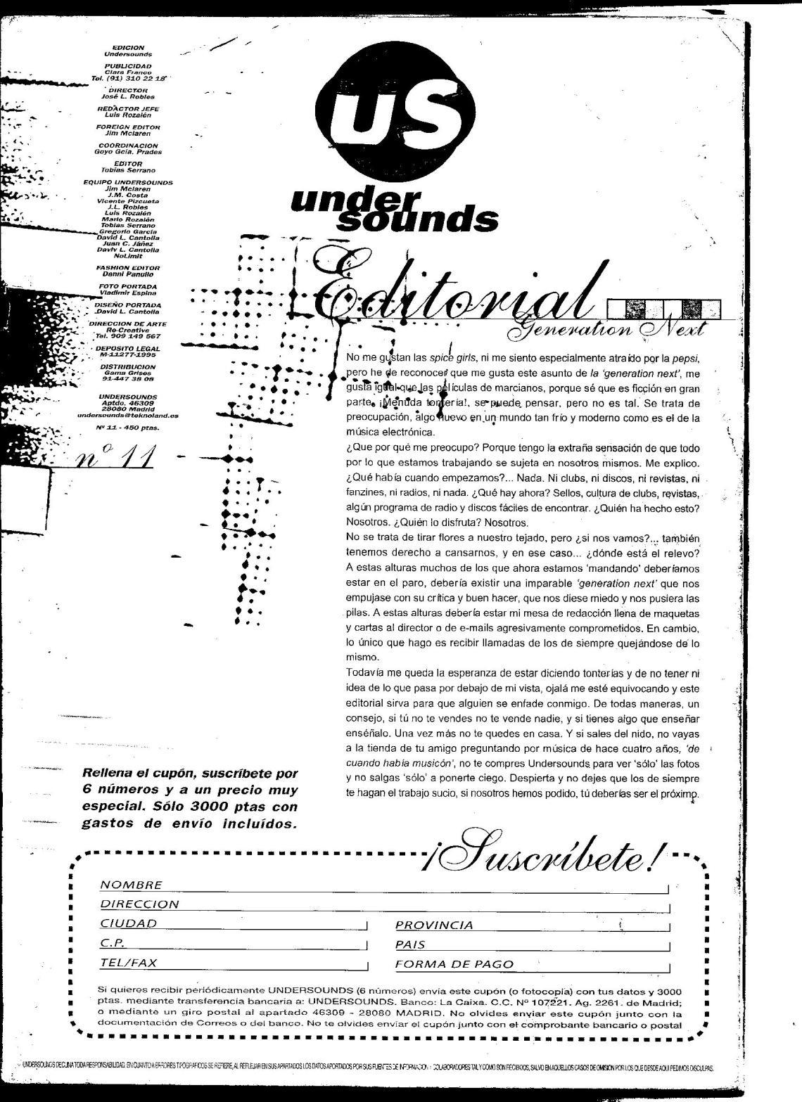 UNDERSOUNDS NO.11 1998 COMPLETA EN PDF